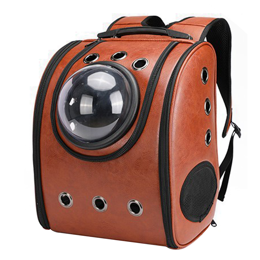 Airline Approved Heavy Duty Leather Bag Pet Carrier