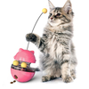 Moving Feeder Fun Tumbler Pet Supplies Interactive Roll Ball Teaser Dispenser Feed Treat Cat Toy For Cat